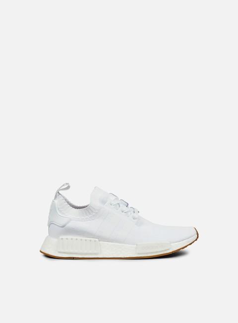sneakers adidas originals nmd r1 primeknit white white gum