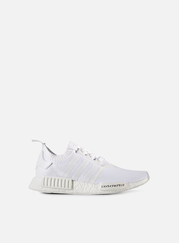Adidas Originals - NMD R1 Primeknit, White/White/White