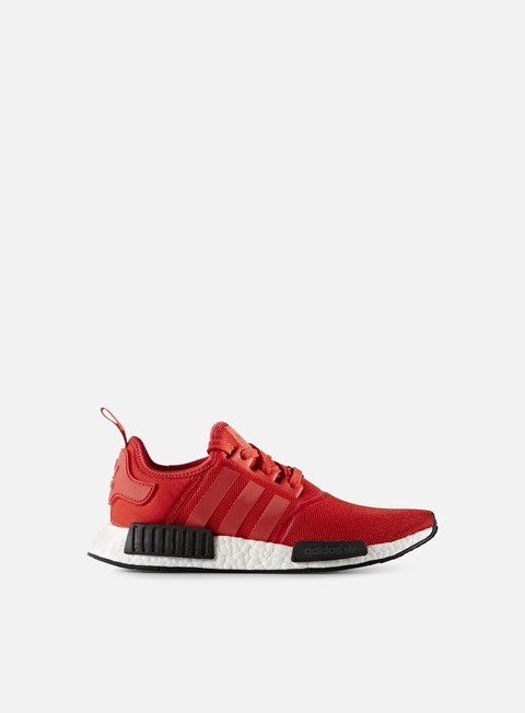 sneakers adidas originals nmd r1 red red white