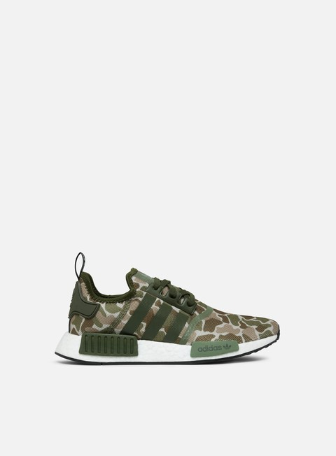 sneakers adidas originals nmd r1 sesame trace cargo base green