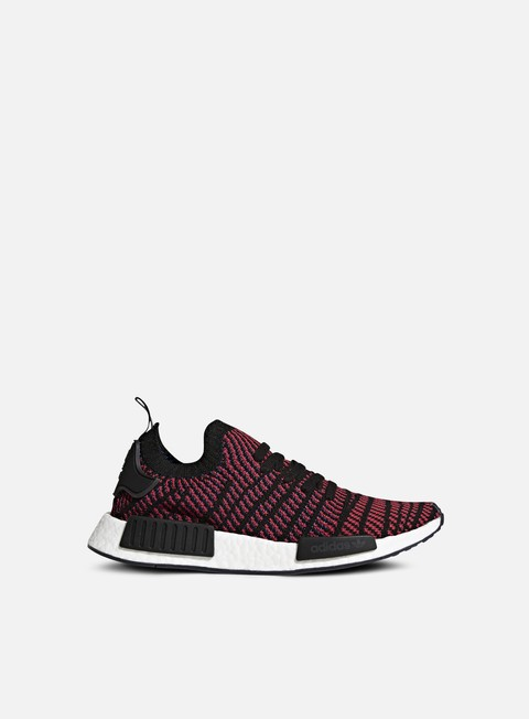 sneakers adidas originals nmd r1 stlt primeknit core black red solid satellite