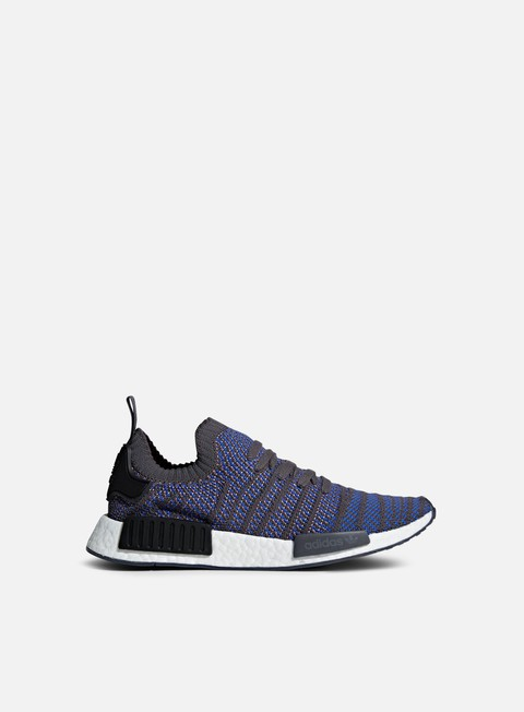 sneakers adidas originals nmd r1 stlt primeknit high rise blue core black charcoal