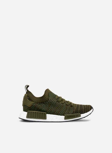 sneakers adidas originals nmd r1 stlt primeknit trace olive core black solar slime