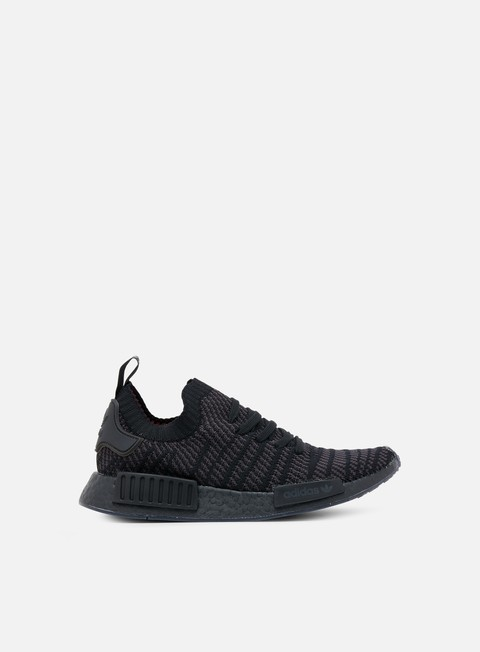 sneakers adidas originals nmd r1 stlt primeknit triple black
