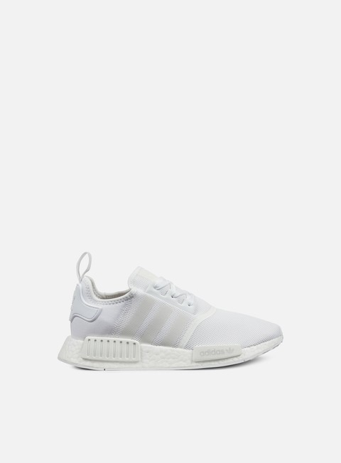 sneakers adidas originals nmd r1 white white