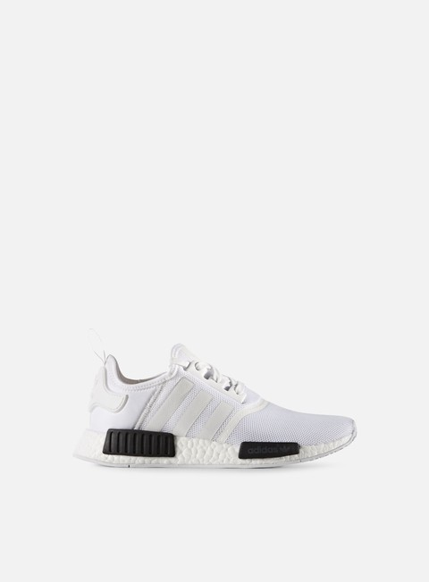 sneakers adidas originals nmd r1 white white core black
