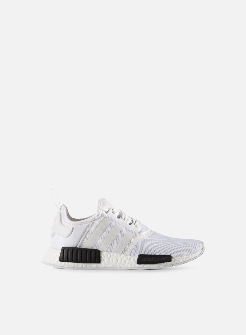 Adidas Originals - NMD R1, White/White/Core Black