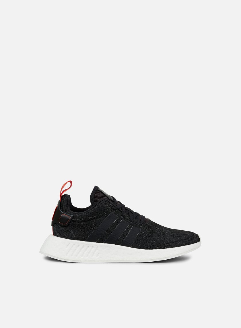 Adidas Originals - NMD R2, Core Black/Core Black/Future Harvest