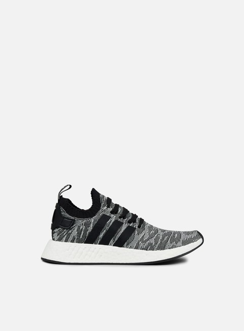 sneakers adidas originals nmd r2 primeknit core black white