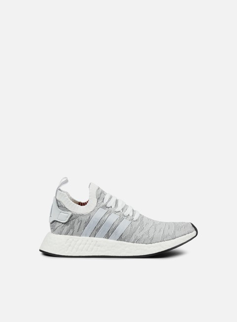 sneakers adidas originals nmd r2 primeknit white core black