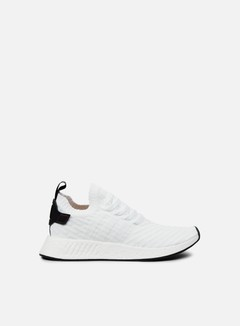 Adidas Originals - NMD R2 Primeknit, White/Core Black/White 1
