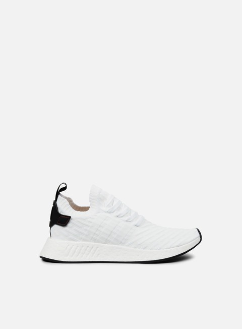 sneakers adidas originals nmd r2 primeknit white core black white