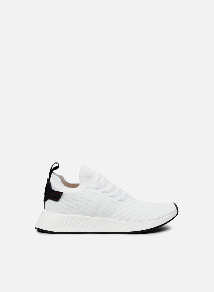 Adidas Originals - NMD R2 Primeknit, White/Core Black/White