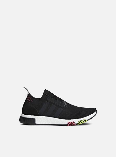 sneakers adidas originals nmd racer primeknit core black core black solar pink