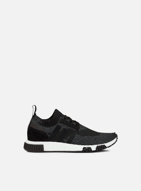 sneakers adidas originals nmd racer primeknit core black grey five white