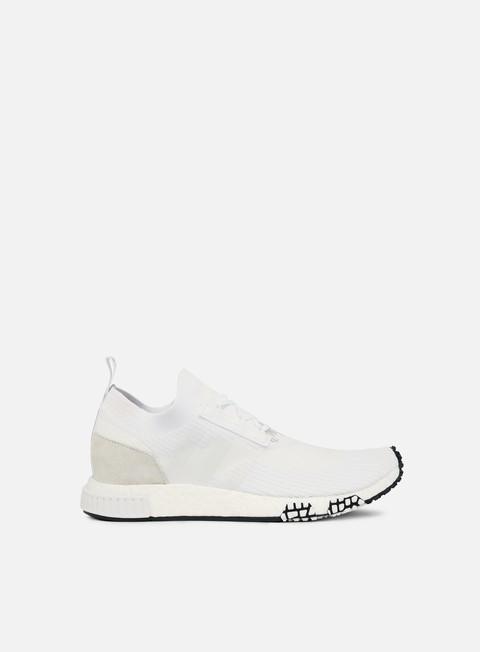 sneakers adidas originals nmd racer primeknit white white white