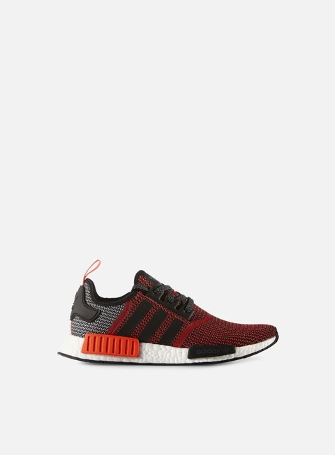 sneakers adidas originals nmd runner lush red core black running white