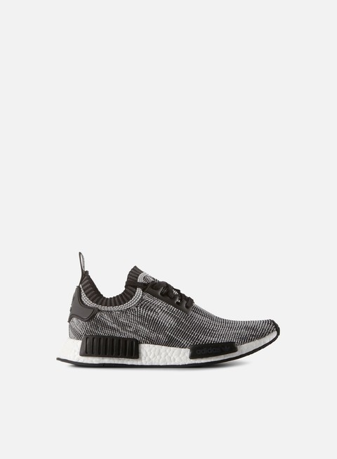 sneakers adidas originals nmd runner primeknit core black core black running white