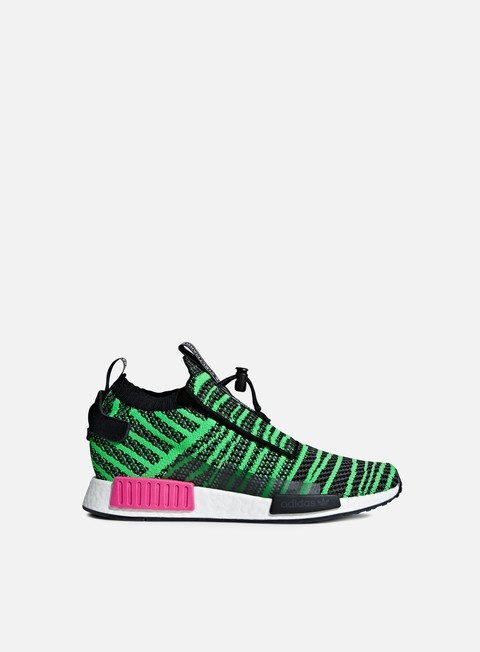 sneakers adidas originals nmd ts1 pk core black cshock lime grey five