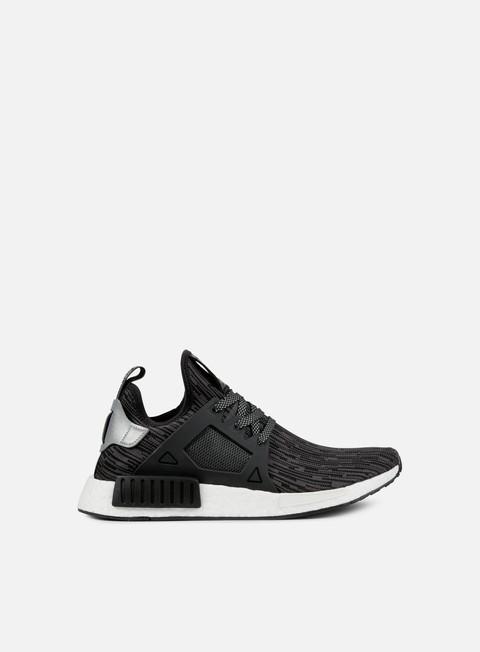 sneakers adidas originals nmd xr1 primeknit black matte silver utility black