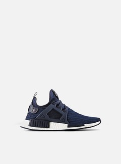 Adidas Originals - NMD XR1 Primeknit, Collegiate Navy/Collegiate Navy/Core Red