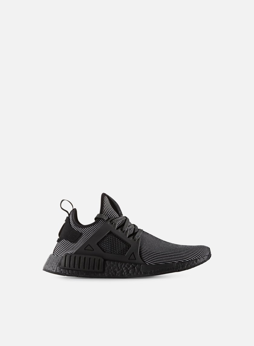 Adidas Originals - NMD XR1 Primeknit, Core Black/Core Black/White
