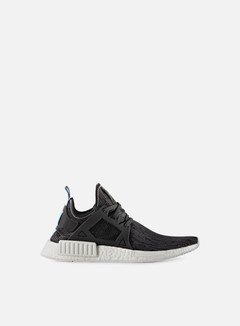 Adidas Originals - NMD XR1 Primeknit, Utility Black/Bright Blue/White