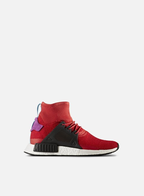 sneakers adidas originals nmd xr1 winter scarlet core black shock purple
