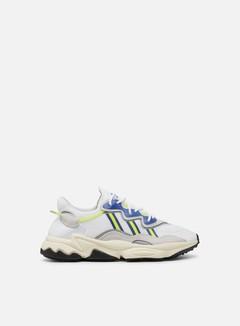 Adidas Originals - Ozweego, Cloud White/Grey One/Solar Yellow