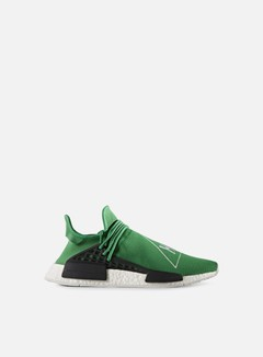 Adidas Originals - Pharrell Williams Human Race NMD, Green/Green/White