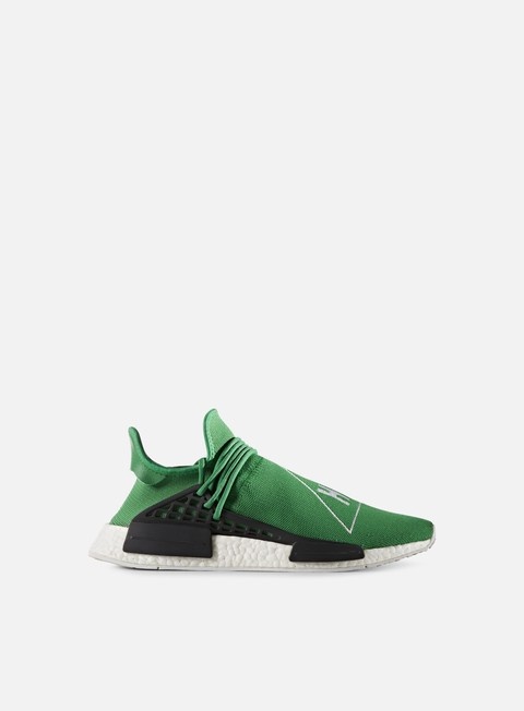 sneakers adidas originals pharrell williams human race nmd green green white