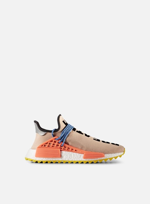 sneakers adidas originals pharrell williams human race nmd tr pail nude semi solar orange yellow
