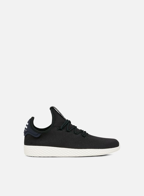 sneakers adidas originals pharrell williams tennis human race black black white