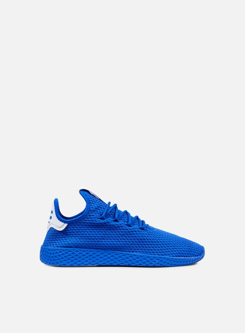 sneakers adidas originals pharrell williams tennis human race blue blue white