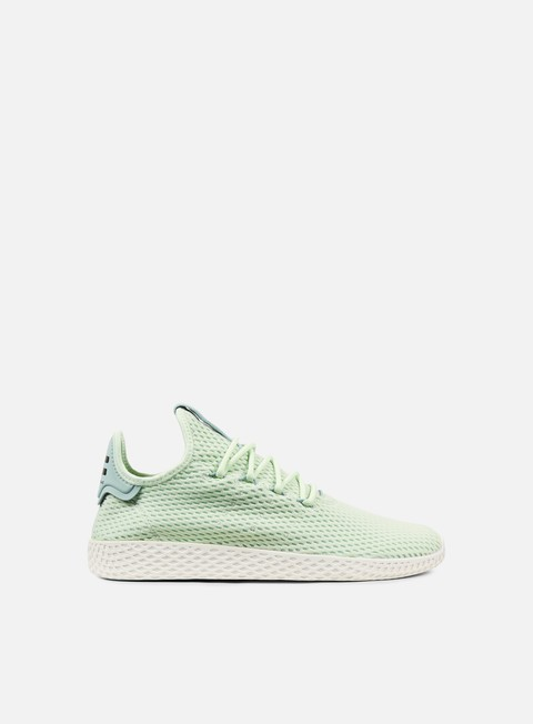 sneakers adidas originals pharrell williams tennis human race linen green linen green tactile green