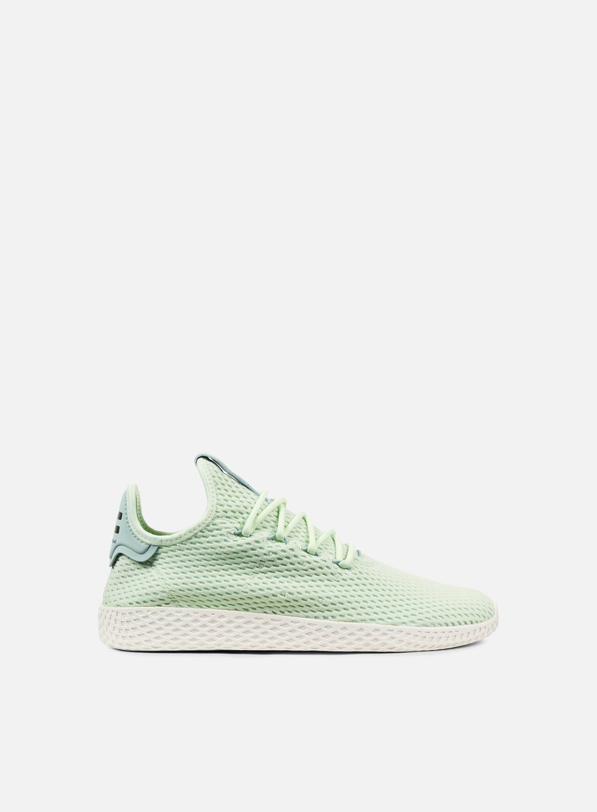 adidas originali pharrell williams tennis razza umana, lino verde