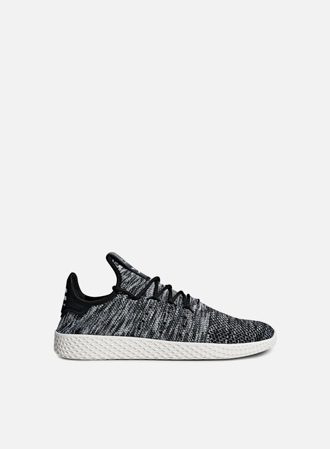 sneakers adidas originals pharrell williams tennis human race primeknit chalk white core black white