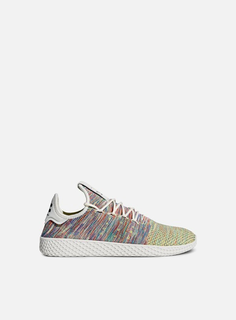 sneakers adidas originals pharrell williams tennis human race primeknit multi white