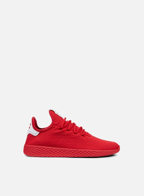 sneakers adidas originals pharrell williams tennis human race scarlet scarlet white