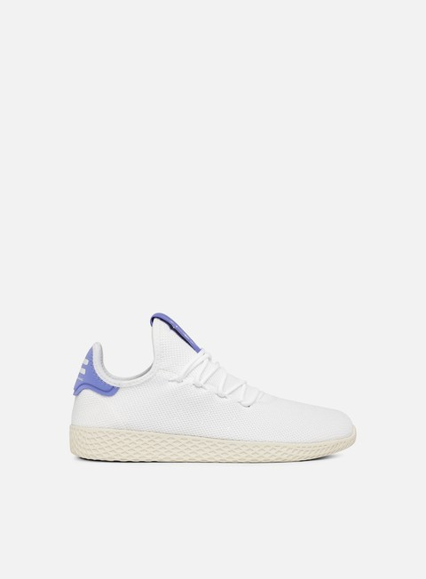 sneakers adidas originals pharrell williams tennis human race white white chalk white