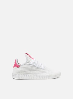 Adidas Originals - Pharrell Williams Tennis Human Race, White/White/Semi Solar Pink