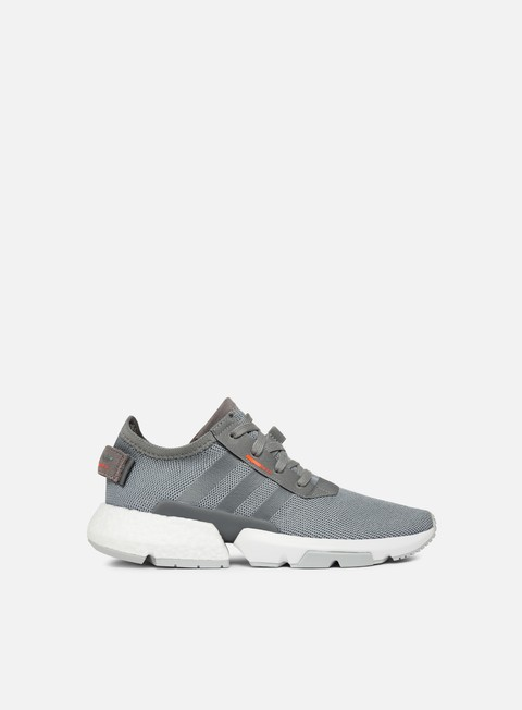 sneakers adidas originals pod s301 grey heather grey heather solar orange
