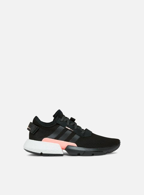 sneakers adidas originals pod s31 core black core black clear orange