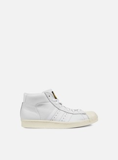 Adidas Originals - Pro Model Vintage DLX, White/White/Cream White
