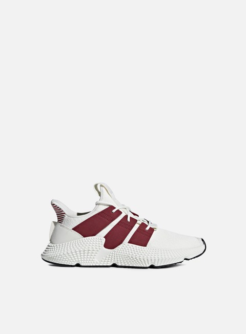 sneakers adidas originals prophere cloud white noble maroon core black