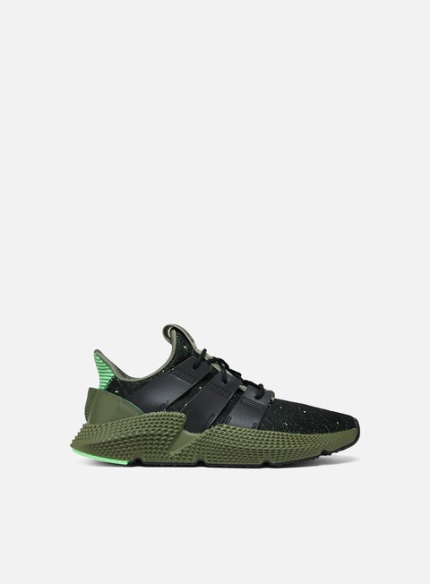 sneakers adidas originals prophere core black core black shock lime