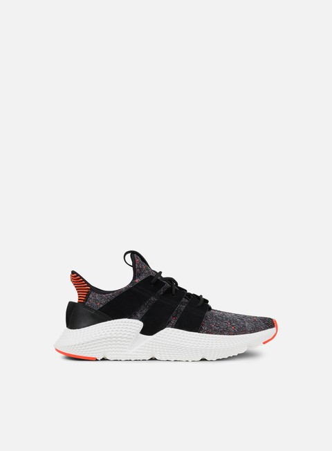 sneakers adidas originals prophere core black core black solar red