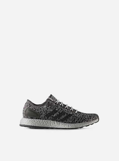 sneakers adidas originals pure boost ltd dark grey heather medium grey heather