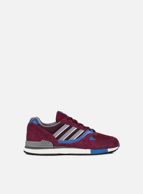 sneakers adidas originals quesence maroon trace blue core black