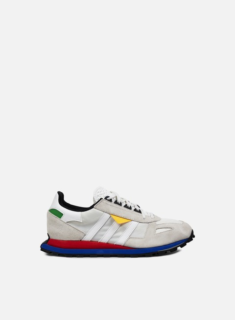 sneakers adidas originals racing 1 prototype vintage white vintage white lush red